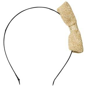 Image of Molo Unisex Hair accessories Gold Shimmer Headband Gold