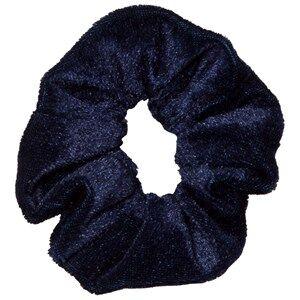 Image of Molo Unisex Hair accessories Blue Velvet Scrunchie Total Eclipse