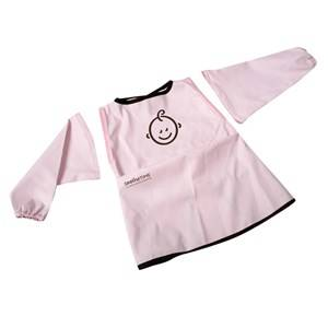 SootheTime Unisex Baby Gear Baby feeding Pink Bib w. Sleeves Pink