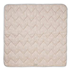 Cam Cam Unisex Baby Gear Textile Pink Organic Baby Blanket Swan Print