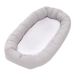 Baby Dan Unisex Norway Assort Breast feeding Grey Cuddle Nest Bed Minimizer Light Grey
