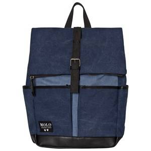 Molo Unisex Bags Blue Roll Top Bag Deep Blue