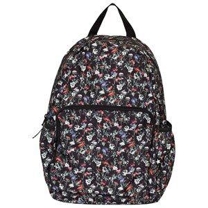 Molo Unisex Bags Pink Big Backpack Tiny Flowers Poplin