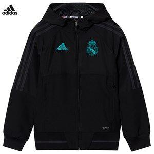 Real Madrid Boys Sporting replica Black Real Madrid ´17 Junior Pre-Match Jacket