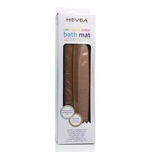 Hevea Unisex Bathroom accessories Brown Hevea Bath Mat Natural