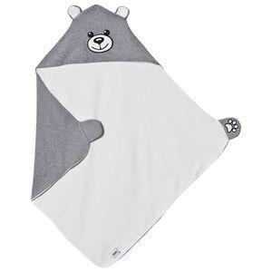 Moschino Kid-Teen Unisex Textile Grey Grey Bear Branded Blanket
