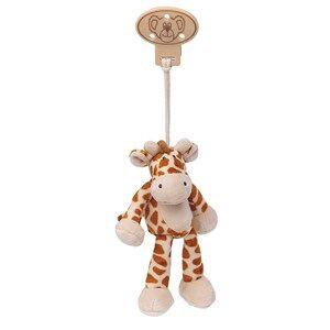 Teddykompaniet Unisex Baby feeding Brown Diinglisar Wild Clip Giraffe