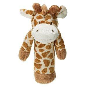 Teddykompaniet Unisex Baby feeding Brown Diinglisar Wild Rattle Giraffe