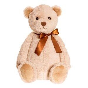Teddykompaniet Unisex Soft toys Beige August Teddy Large