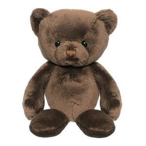 Teddykompaniet Unisex Soft toys Brown Elliot Brown Small