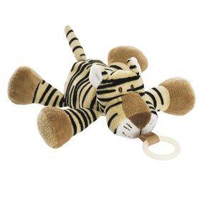 Teddykompaniet Unisex Baby feeding Brown Diinglisar Wild Buddy Tiger