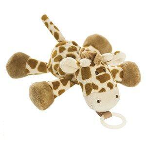 Teddykompaniet Unisex Baby feeding Brown Diinglisar Wild Buddy Giraffe