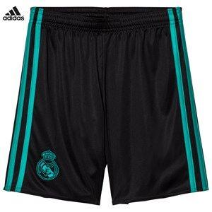 Real Madrid Boys Sporting replica Black Real Madrid ´17 Junior Away Shorts