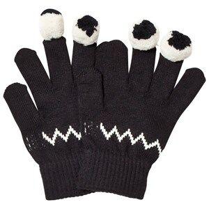 Stella McCartney Kids Boys Gloves and mittens Navy Black Eye Gloves