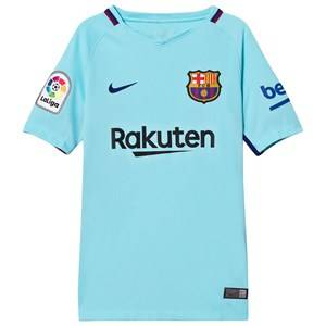 Barcelona FC Unisex Sporting replica Blue Junior FC Barcelona Stadium Away Shirt