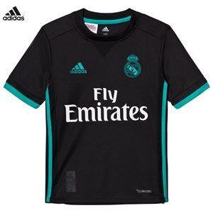 Image of Real Madrid Boys Sporting replica Black Real Madrid ´17 Junior Away Shirt