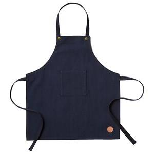 ferm LIVING Unisex Baby feeding Blue Kids Apron - Blue