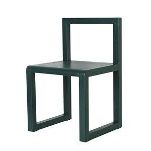 ferm LIVING Unisex Furniture Green Little Architect Chair Dark Green
