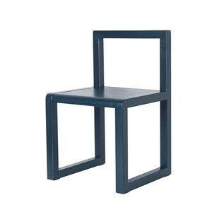 ferm LIVING Unisex Furniture Blue Little Architect Chair Dark Blue