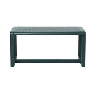 ferm LIVING Unisex Furniture Green Little Architect Bench Dark Green