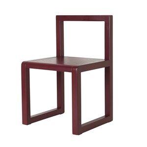 ferm LIVING Unisex Furniture Red Little Architect Chair Bordeaux