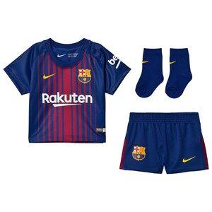 Barcelona FC Unisex Sporting replica Blue Infant FC Barcelona Home Kit