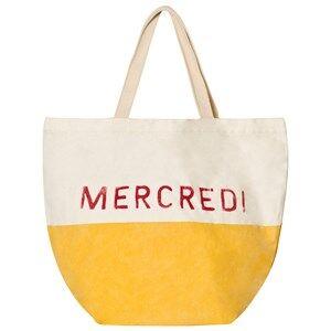 Bobo Choses Unisex Bags Yellow Mercredi Petit Tote Bag