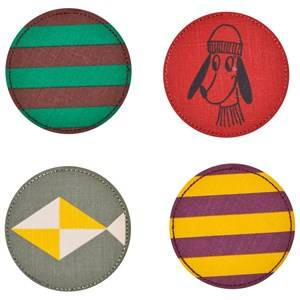 Image of Bobo Choses Unisex Jewellery and watches Green Pack Patches
