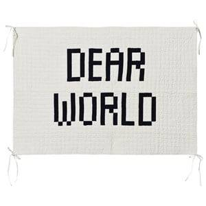 Bobo Choses Unisex Home accessories Beige Quilted Wall Hanger Dear World