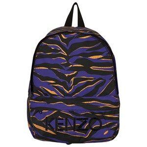 Kenzo Boys Bags Blue Blue Tiger Stripe Backpack