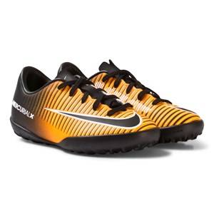 NIKE Boys Sport footwear Orange MercurialX Vapor XI Turf Football Boot