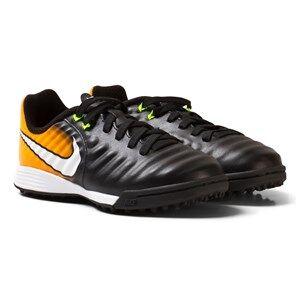 NIKE Boys Sport footwear Black TiempoX Ligera IV Artificial-Turf Soccer Boot