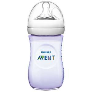 Philips Avent Unisex Baby feeding Beige Natural Feeding Bottle 260 ml (9 oz) 1M+