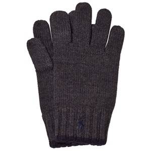 Ralph Lauren Boys Gloves and mittens Grey Grey/Black Merino Gloves