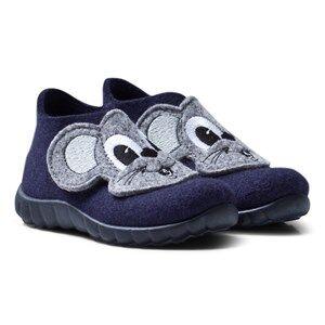 Superfit Unisex Slippers Blue Happy Ocean Kombi Indoor Shoes