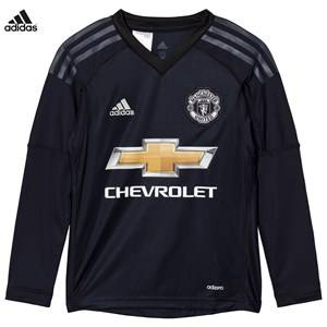 Image of United Manchester United Boys Sporting replica Blue Man United ´17 Junior Home Goal Keeper Shirt