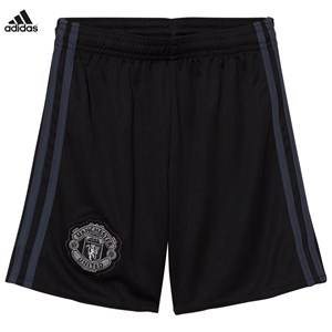 Image of United Manchester United Boys Sporting replica Black Man United ´17 Junior Home Goal Keeper Shorts
