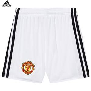 Image of United Manchester United Boys Sporting replica White Man United ´17 Junior Home Shorts