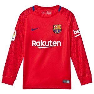 Barcelona FC Unisex Sporting replica Red Junior FC Barcelona Stadium Goal Keeper Shirt