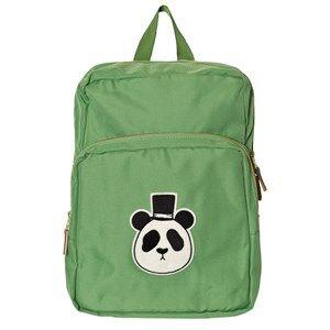 Mini Rodini Unisex Bags Green Panda Backpack Green