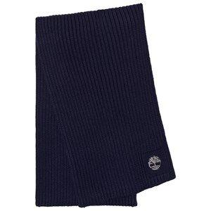 Timberland Boys Scarves Navy Navy Branded Knit Scarf