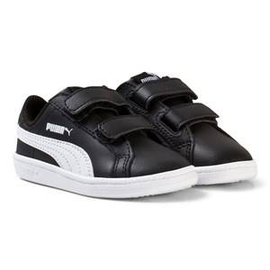 Puma Unisex Sport footwear Black Puma Smash Fun Kids Black