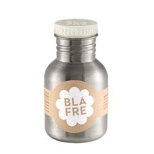Blafre Unisex Baby Gear Flasks and water bottles White Steel Bottle 300ml White