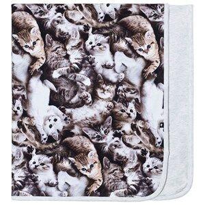 Molo Girls Textile Grey Neala Blanket Miauuu