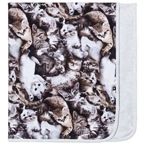 Image of Molo Girls Textile Grey Neala Blanket Miauuu