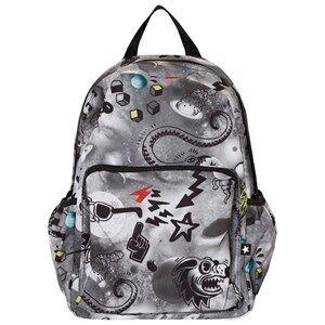 Molo Boys Bags Black Big Backpack Comic Space