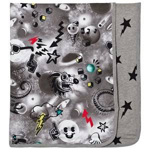 Image of Molo Boys Textile Black Niles Blanket Comic Space