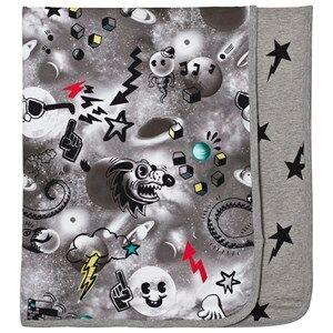 Molo Boys Textile Black Niles Blanket Comic Space