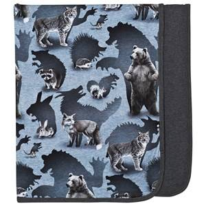 Image of Molo Boys Textile Grey Niles Blanket Shadow Camo