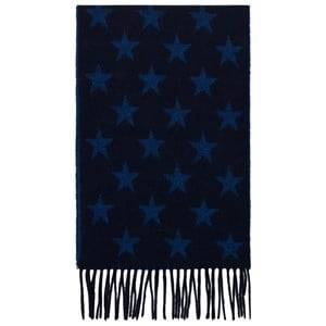 Gant Boys Scarves Navy Navy Star Scarf